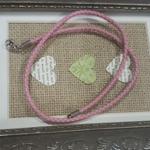 James Avery Braided Leather Necklace